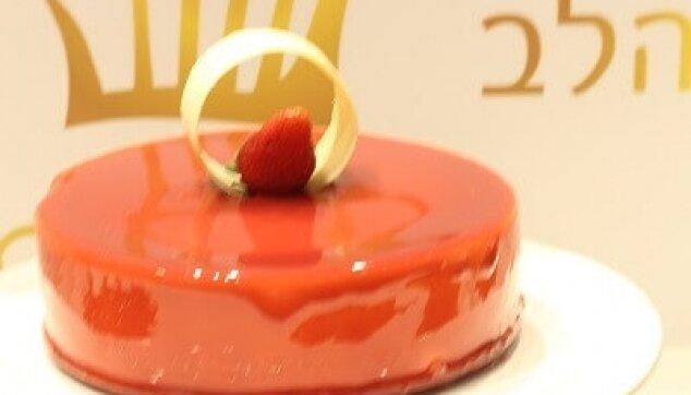עוגת ראווה תות
