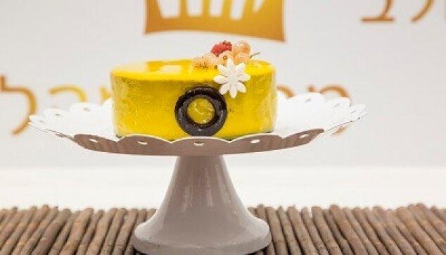 עוגת ראווה צהובה