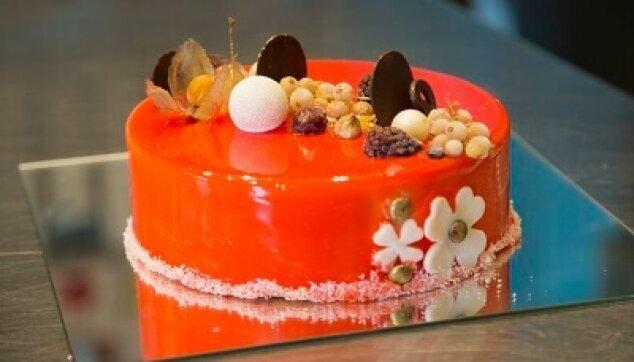 עוגת ראווה עגולה